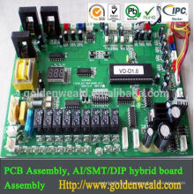 High Quality PCB Assemblies for Power controller with all parts sourcing pcb assembly led